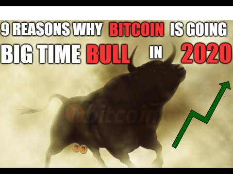 9 Reasons Why Bitcoin Price Is Going BIG TIME Bull In 2020