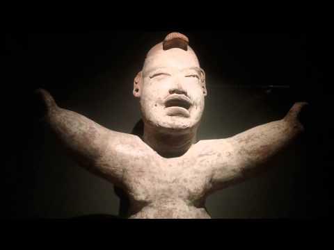 Seated hollow baby state of Veracruz Tenenexpan Olmec culture 100-900 B.C. Dallas Museum of Art