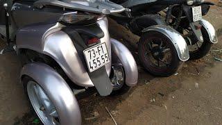 Xe này chạy có khác gì ô tô đâu mà gọi là xe máy?