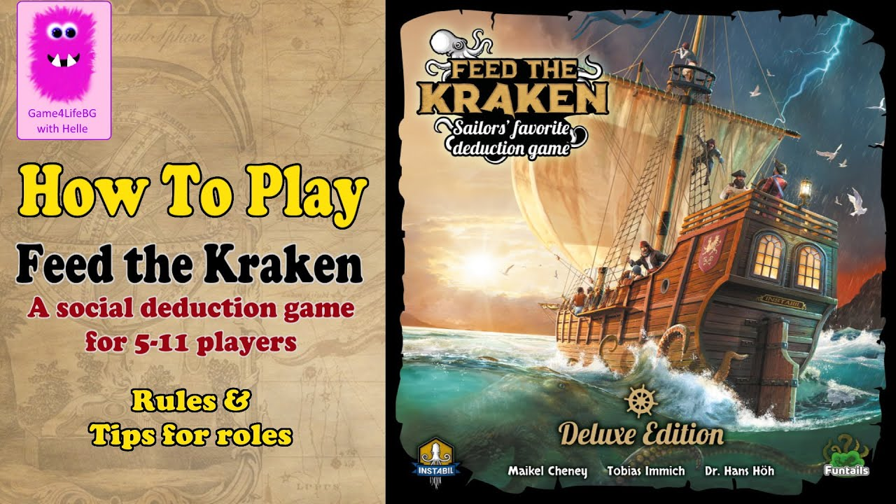 Feed the Kraken, How to play #FeedtheKraken #socialDeductionGame #howtoplay #socialDeduction 18