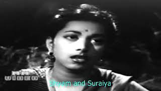 zalim zamana mujh ko tum se chhuda raha hai hai..Shyam_Suraiya _ Shakeel_Naushad..a tribute