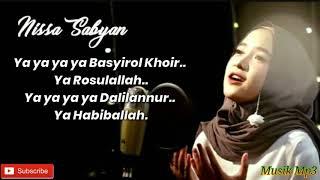 Ya Habibal Qolbi Nissa Sabyan Lirik