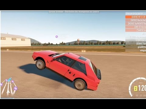 forza horizon 2 faire du wheeling avec sa voiture youtube