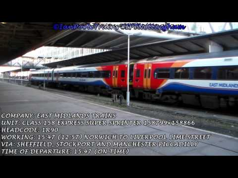 Season 8, Episode 41 - Trains at Nottingham station
