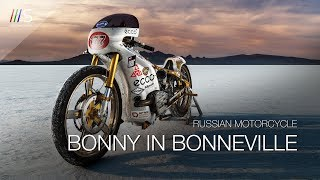 BONNY: Russian Ural Motorcycle at the Bonneville Speed Week   ///S