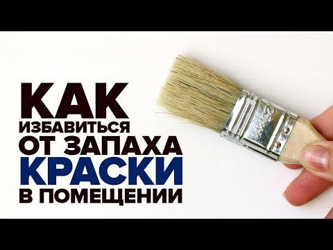 Как избавиться от запаха краски в помещении