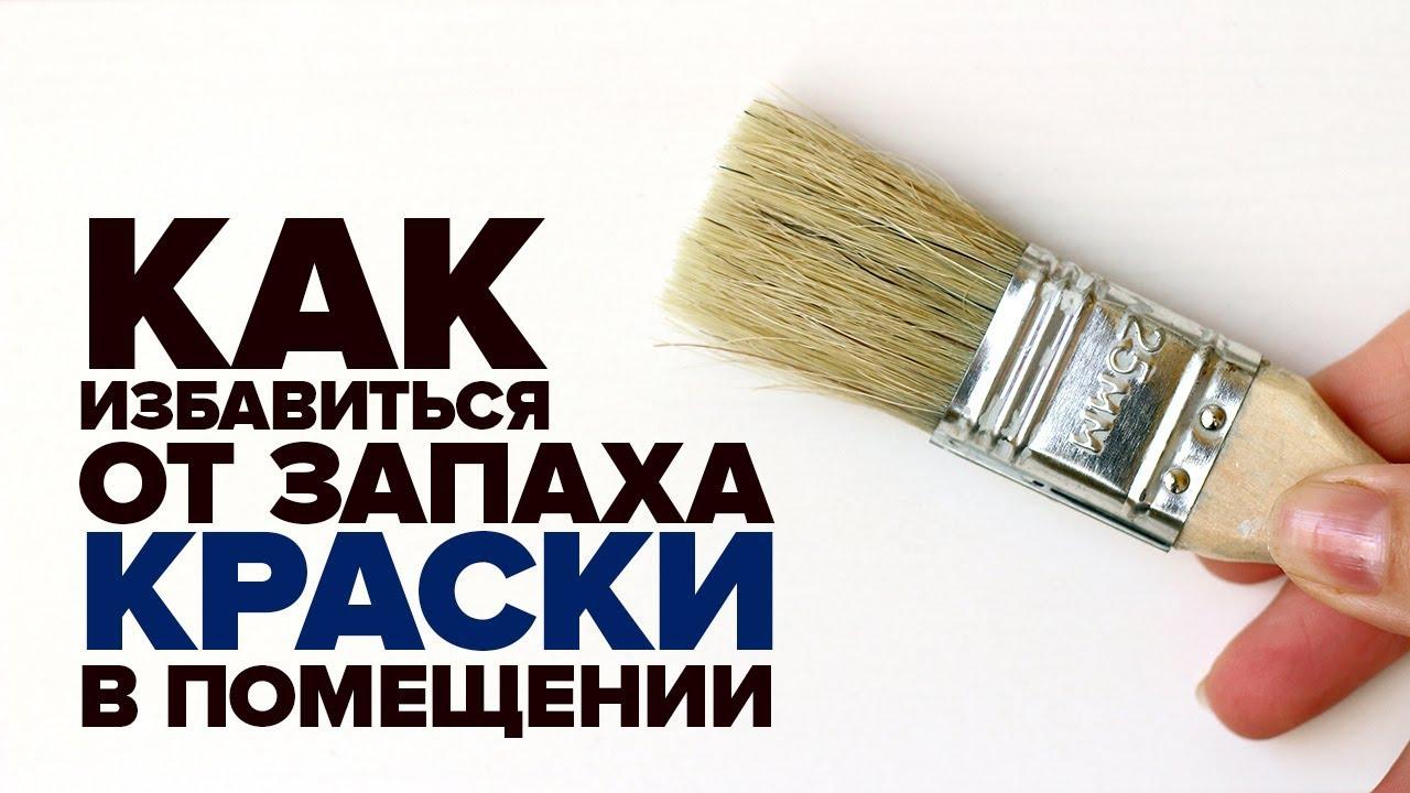 Как избавиться от запаха краски в квартире изоражения