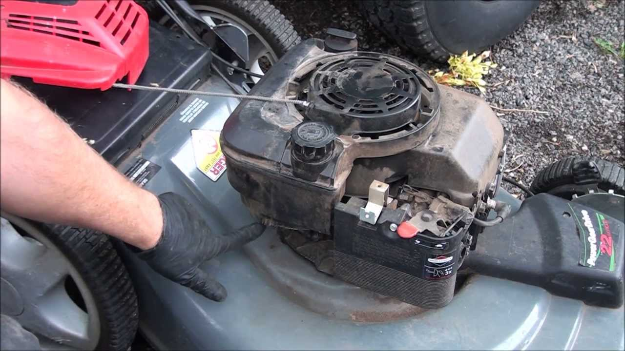 Easy How To Fix A Briggs And Stratton Lawnmower Starter
