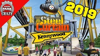 Kennywood Announces STEEL CURTAIN Roller Coaster for 2019!