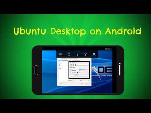 How to install Ubuntu desktop on Android (Lollipop)