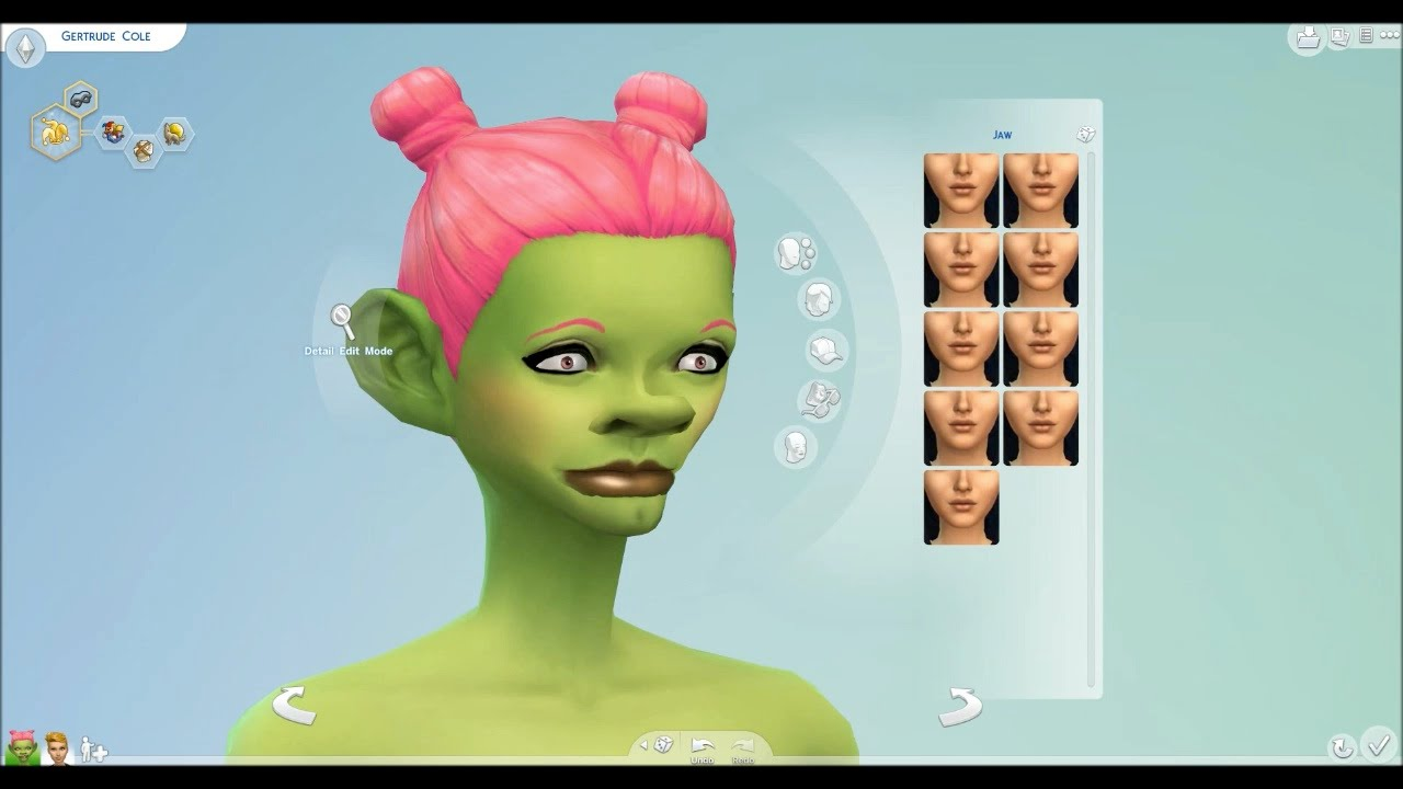 how to use the new sims 4 character creator demo day 427