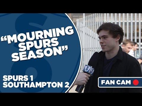 "Tottenham Hotspur 1-2 Southampton | ""Mourning Tottenham's Season"" | Fan Cam"