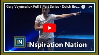 Gary Vaynerchuk - Dutch Bros Keynote Portland, Oregon (Full Part Series)