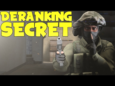 HOW TO DERANK IN CS:GO