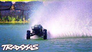 Big-Air Hydroplane Bash | Traxxas X-Maxx