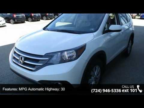 2014 Honda CR-V EX - Fayette Honda - Uniontown, PA 15401 - YouTube