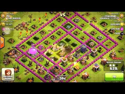 Clash of clans 1.2millon loot (farming strategy with low cost elixir)