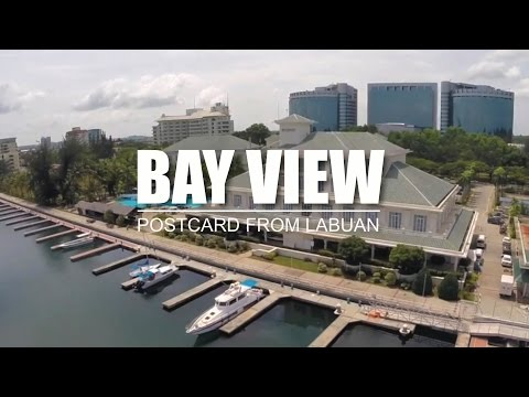 Bay View : Postcard From Labuan [ Dji Phantom 2 with Zenmuse HD-3D + GoPro 3+ ]