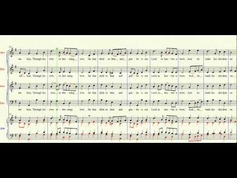Once In Royal David's City - Alto Part (arr. Sir David Willcocks).wmv