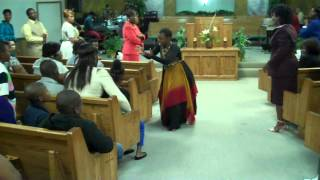 SIS CONNIE. MINISTERING A PROPHETIC DANCE BROKEN-@DOMINION AND POWER FLC.