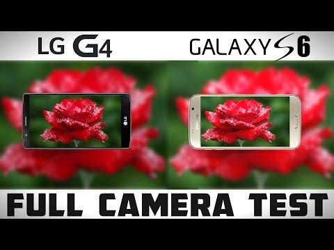 LG G4 vs Galaxy S6