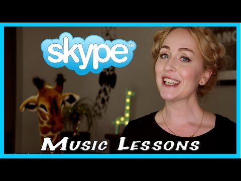 STUDY WITH ME: via SKYPE MUSIC LESSONS