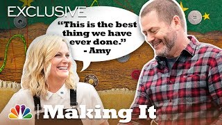 Amy Poehler and Nick Offerman: Work Hard, Clay Hard - Making It