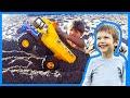 Toy Dump Truck Buries Axel
