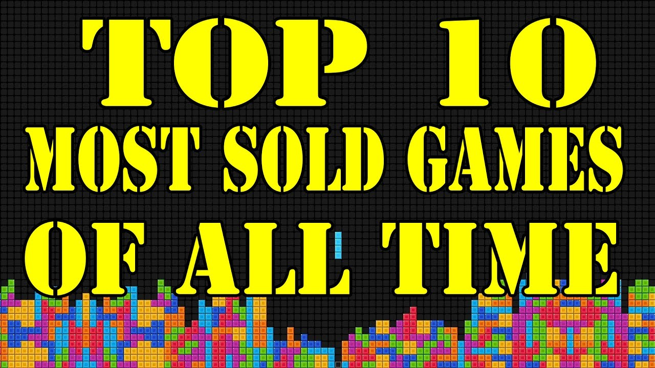 top ten most sold video games