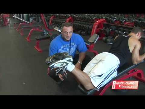 Instructional Fitness - Dumbbell Leg Curls
