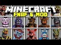 Minecraft EVIL FIVE NIGHTS AT FREDDY'S MOD! | FREDDY, SPRINGTRAP, MANGLE & MORE! | Modded Mini-Game