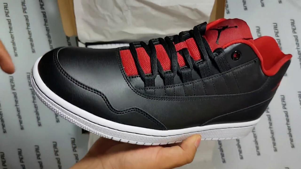 Air Jordan Executive Low Black/Red