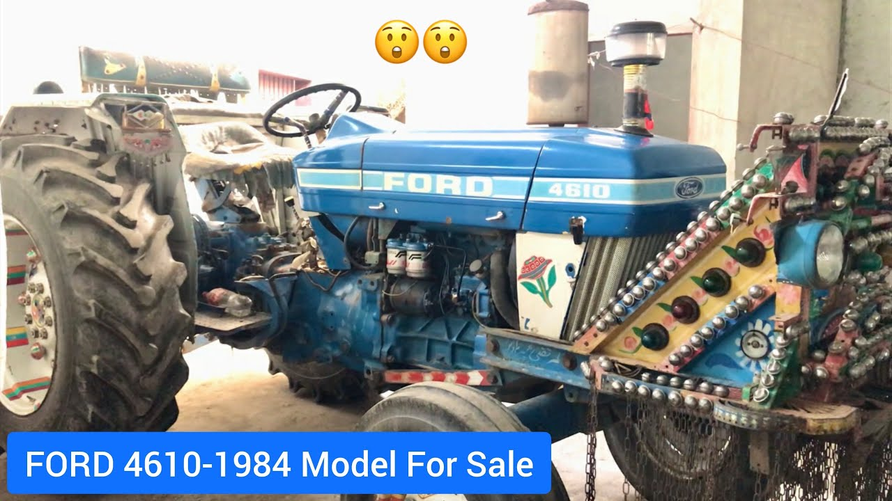 Tractor For Sale | Ford 4610-1984 Model Very Decent Price