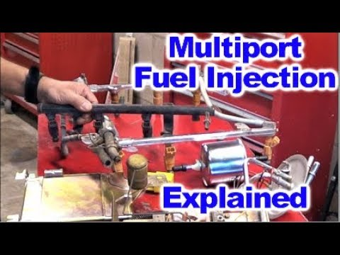 How the Multiport Fuel Injection System works by Howstuffinmycarworks