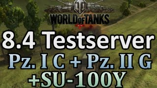 World of Tanks 8 4 Testserver Pz I C