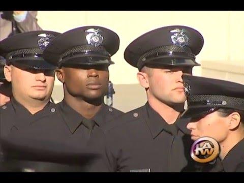 LAPD Recruit Graduation