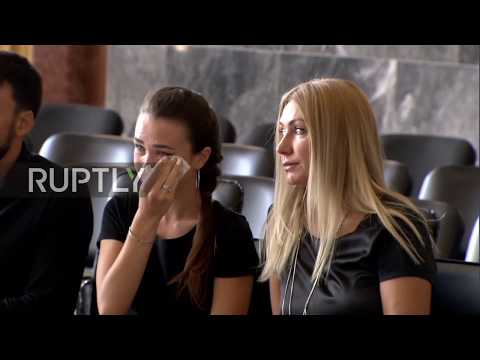 Russia: Farewell ceremony held for last commander of the Soviet Air Force