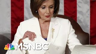 Nancy Pelosi: After Trump Shredded The Constitution, I Shredded His State Of His Mind | MSNBC