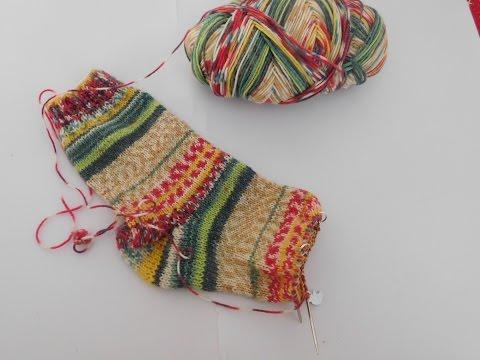 Socken stricken | Socken mit Rundstricknadel | Addi Sockenwunder