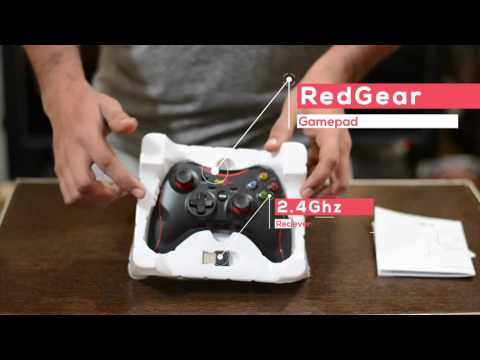 RedGear Gamepad For Android, WIndows PC - Xbox Gamepad Alternative For PC