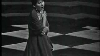 Maria Callas Una Voce Poco Fa Barbiere di Siviglia G. Rossini