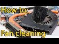 How to disassemble and clean laptop HP Compaq Presario CQ58