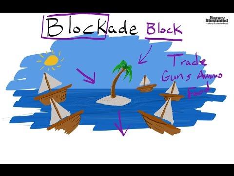 Blockade  Definition for Kids