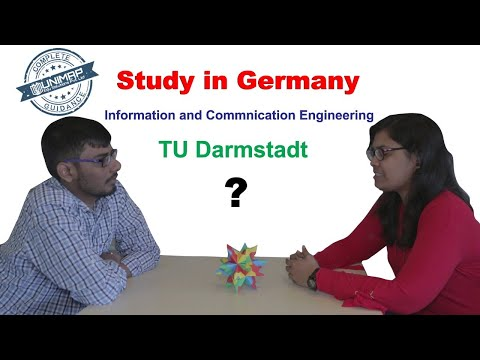 Master's In Information And Communication Engineering (iCE)  | TU-Darmstadt | Germany