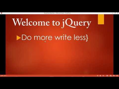 001 Introduction to jQuery thumbnail