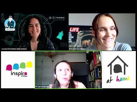 Inspira STEAM at home   Mª Luz Congosto   Resumen de la entrevista