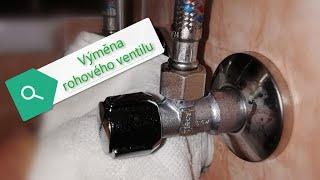 výměna rohového ventilu