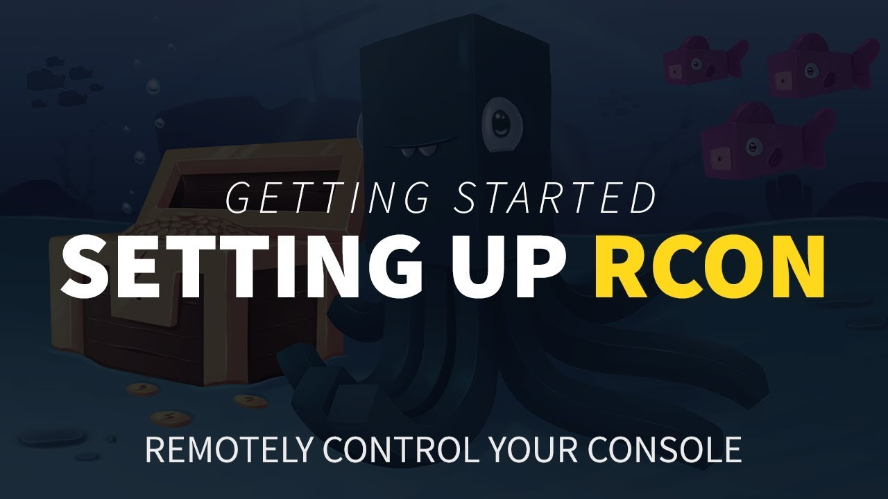 How to Setup RCON to Your Minecraft Server