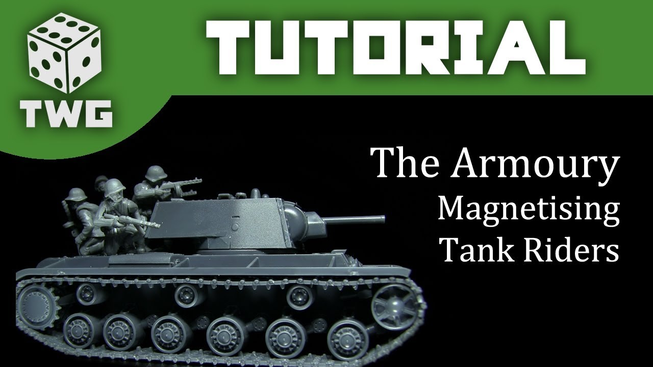 The Armoury: Magnetising Tank Riders For Bolt Action
