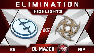 EG vs NiP [TOP 8] Stockholm Major DreamLeague Highlights 2019 Dota 2